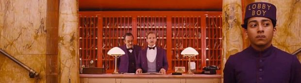 A still from The Grand Budapest Hotel
